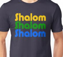 Shalom (Colour) Unisex T-Shirt