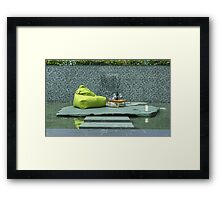 It's A Garden Jim,But Not As We Know It.. Framed Print