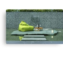 It's A Garden Jim,But Not As We Know It.. Canvas Print