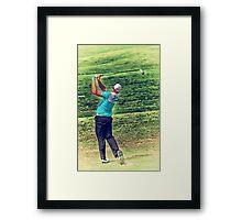 The Golf Swing Framed Print