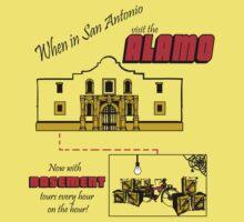 Alamo Basement Tours by koalaknight