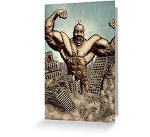 Strongman! Greeting Card