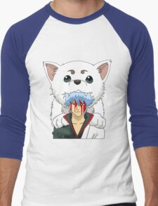Gintoki and Sadaharu Men's Baseball ¾ T-Shirt