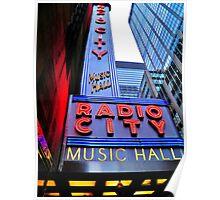 New York Landmark Poster