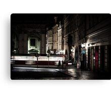 A Night in Prague Canvas Print