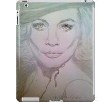 Ten Tiny Toes in My Black Shiny Hose iPad Case/Skin