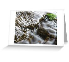 Mini Waterfall Greeting Card