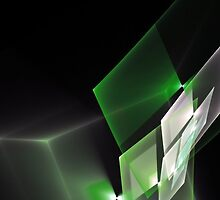 Abstract Green by Nick Martin