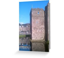 Rothesay Castle Greeting Card