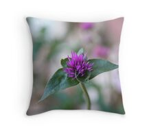 Firework Flower Throw Pillow