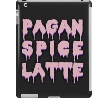 Pagan Spice Latte iPad Case/Skin