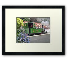 Steam Railway Isle of Man Framed Print