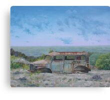 Out of Gas Canvas Print