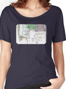 A circle Amongst Squares Women's Relaxed Fit T-Shirt