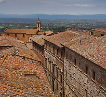 Rooftops of Montepulciano by vivsworld