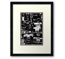 Vintage Camera's   Framed Print