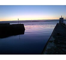 Nairn Harbour Scotland Photographic Print