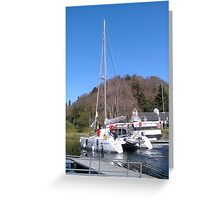 Caledonian Canal Inverness Loch Ness Greeting Card