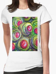 Olives in a Jar Womens Fitted T-Shirt