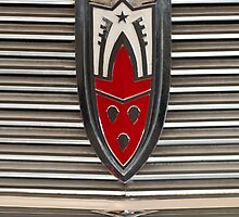 1958 Oldsmobile Super 88 Sedan Grille Emblem by Jill Reger