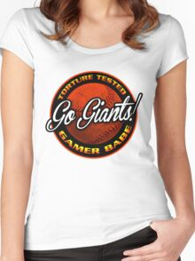 Giants Gamer Babe Women's Fitted Scoop T-Shirt