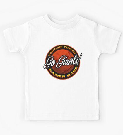Giants Gamer Babe Kids Tee