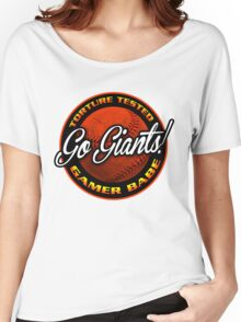 Giants Gamer Babe Women's Relaxed Fit T-Shirt