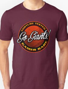 Giants Gamer Babe Unisex T-Shirt