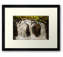 Falls of Braan Framed Print