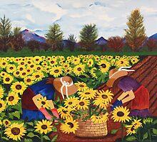 Las Mimosas by Damaris  Munoz Arias