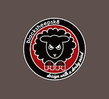 Roller Derby Black Sheep Sk8 logo Womens Fitted T-Shirt