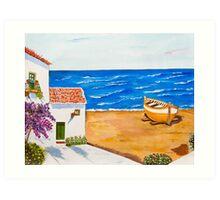 Espana con Alegria Art Print
