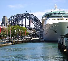 Rhapsody of the Seas, Sydney by Nigel Byrne