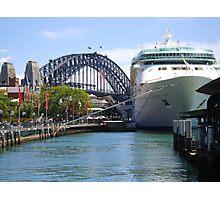 Rhapsody of the Seas, Sydney Photographic Print