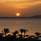 Egyptian sunrise by davidwatterson