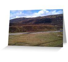 Highlands of Scotland Greeting Card