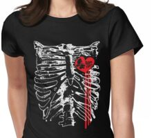 Chestplate of derby Love Womens Fitted T-Shirt