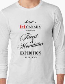 Canada - Ontario Long Sleeve T-Shirt