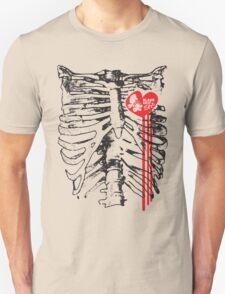 Derby loving sketetal system. Unisex T-Shirt
