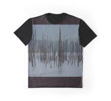Drowned Trees, Lake Jounama, Snowy Mountains, Australia. Graphic T-Shirt