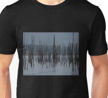 Drowned Trees, Lake Jounama, Snowy Mountains, Australia. Unisex T-Shirt