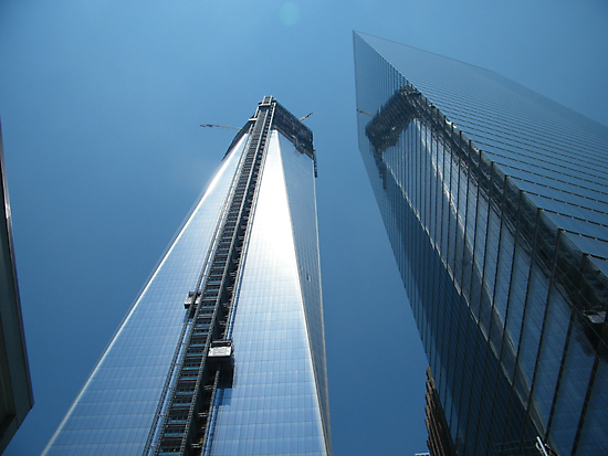 The New World Trade Center Nears Completion, Lower Manhattan by lenspiro