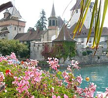 A picturesque scene in Switzerland by davidwatterson