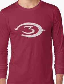 Halo 3 - Distressed Logo Long Sleeve T-Shirt