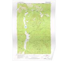 USGS Topo Map Washington State WA Leadpoint 241962 1952 24000 Poster