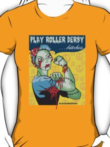 Play Roller Derby Parody T-Shirt