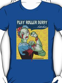 Play Roller Derby Parody T-Shirt