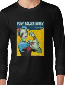 Play Roller Derby Parody Long Sleeve T-Shirt