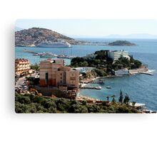 Harbor View from Kusadasi Canvas Print