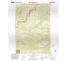 USGS Topo Map Washington State WA Foundation Ridge 241193 2000 24000 Poster